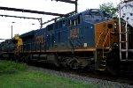 CSX 3084 trailing unit on K534